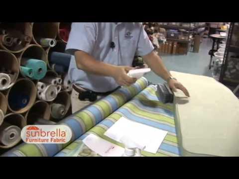 Care & Cleaning of Sunbrella Furniture Fabric