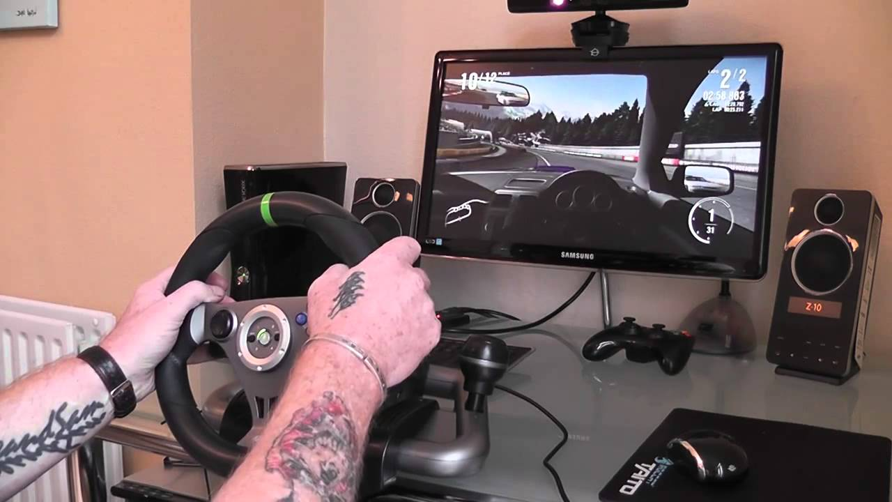 Mad Catz Latest Wireless Steering Wheel Review For The
