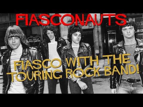 FIASCO WITH THE TOURING ROCK BAND - FIASCONAUTS