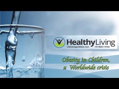 Obesity in Children -  A worldwide Crisis | Kangen Water India