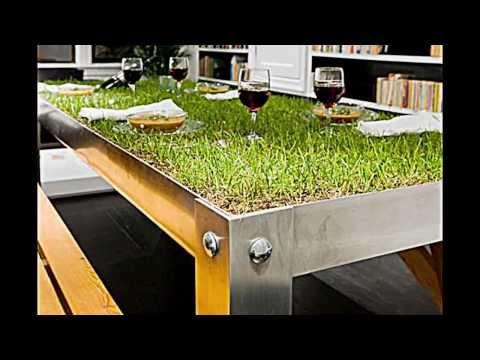 Der Alu Designer Esstisch PicNYC -- Grüne Wiese mitten im ...
