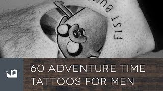 Best Adventure Time Tattoos