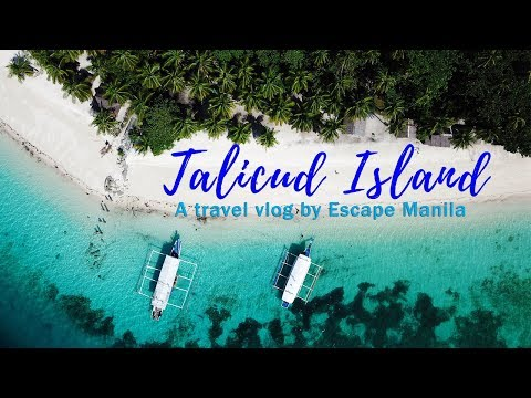Vlog 02 : Beaches In Talicud Island, Samal