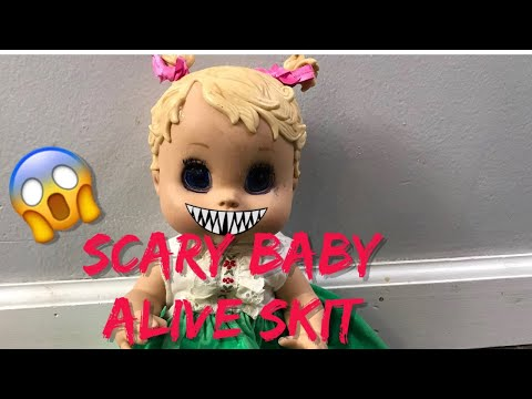 BABY ALIVE Skit The New Doll baby alive videos