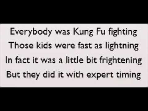 Kung Fu Fighting - Carl Douglas (Lyrics)