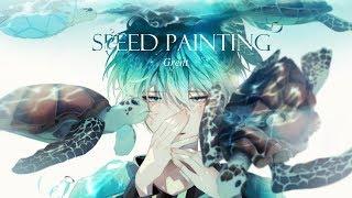 [Speed Painting] 거북 [CLIP STUDIO]