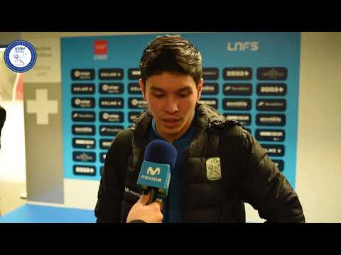 ZONA MIXTA vs Palma Futsal | Ortiz, Elisandro y Daniel