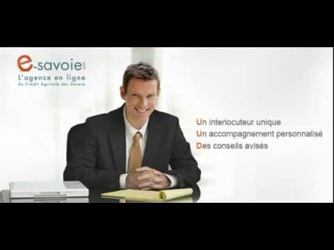 e savoie : l'agence en ligne du Crédit Agricole des Savoie