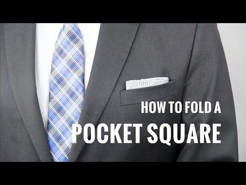 How To Fold Pocket Square Ways