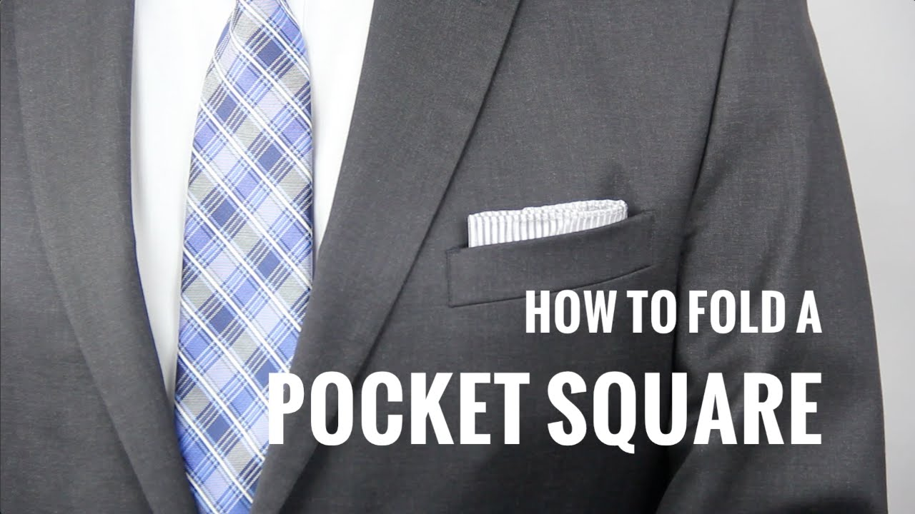 3f8ba41c1b480 How to Fold a Pocket Square 7 Ways | The Distilled Man - YouTube