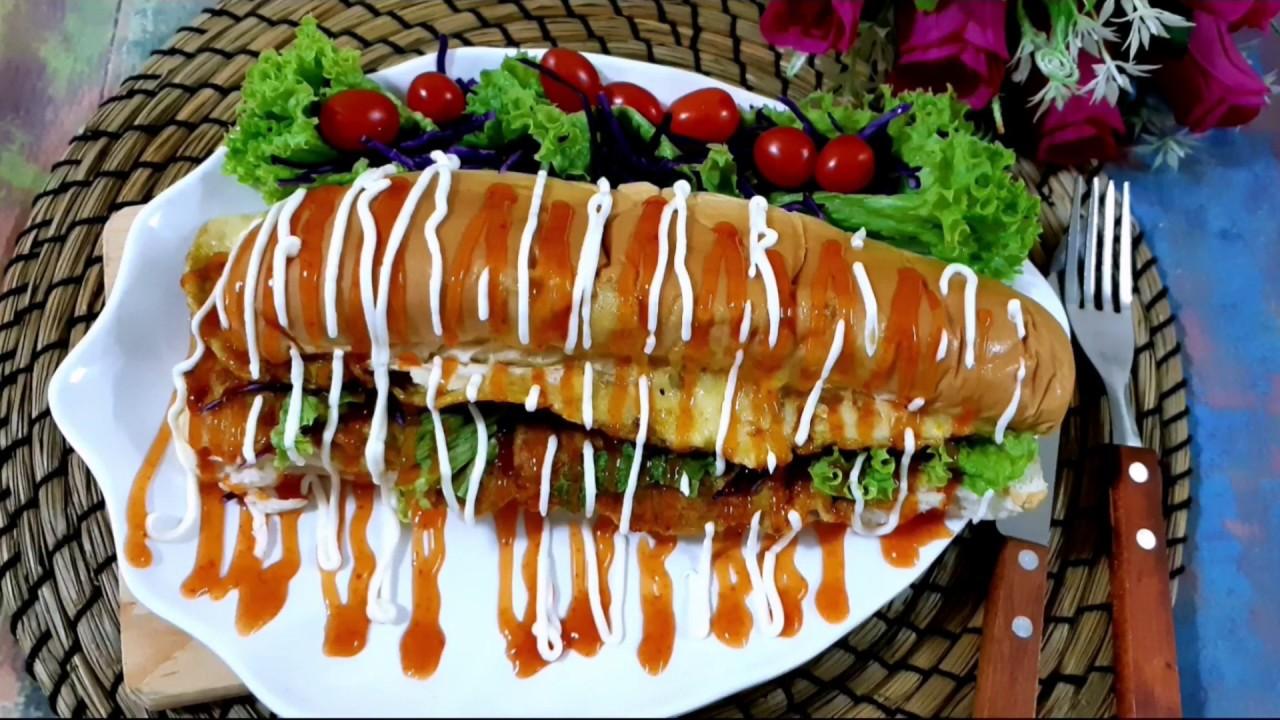 resepi roti john sosej resepi bergambar Resepi Makaroni Goreng Mayonis Enak dan Mudah