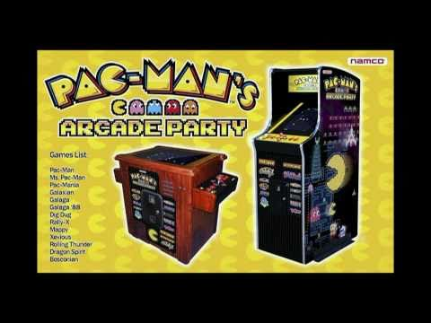 Pac-Man's Arcade Party - Upright Coin Op Model - Video Arcade Machine - BMIGaming.com - Namco