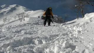 伯耆大山雪山登山