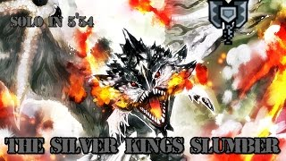 ┌MH4U┘ G3★ - DLC: The Silver King's Slumber || Silver Rathalos - 5'54 [Charge Blade]