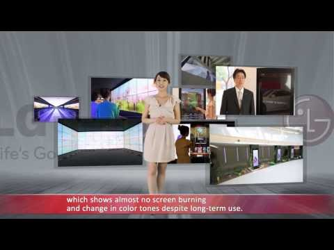 Digital Signage Videowall, touchscreen, billboard, display solution by LG