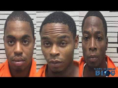 3 Crip street gang members convicted in series of store robberies (Montgomery, Alabama)