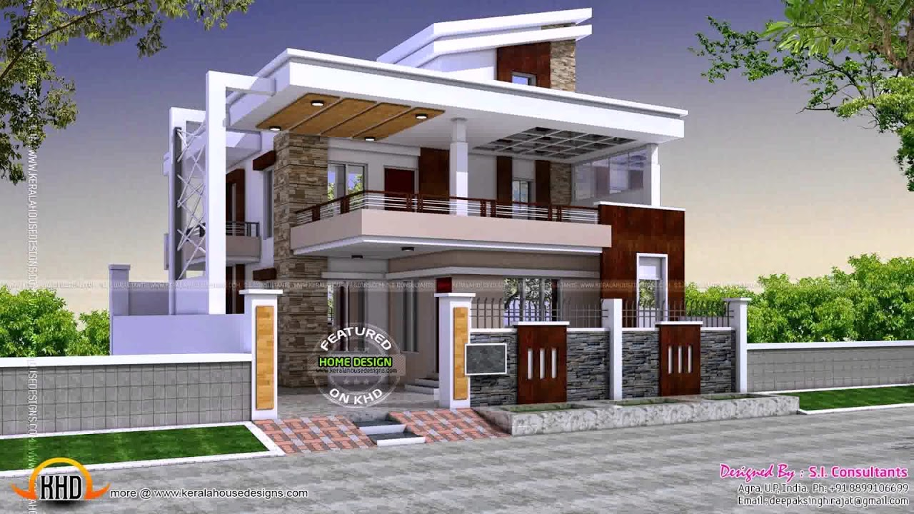 Marvelous Home Design Outside Part - 2: House Design Outside And Inside