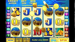 DOLPHIN TREASURE Video Slot Casino Game with a FREE SPIN BONUS