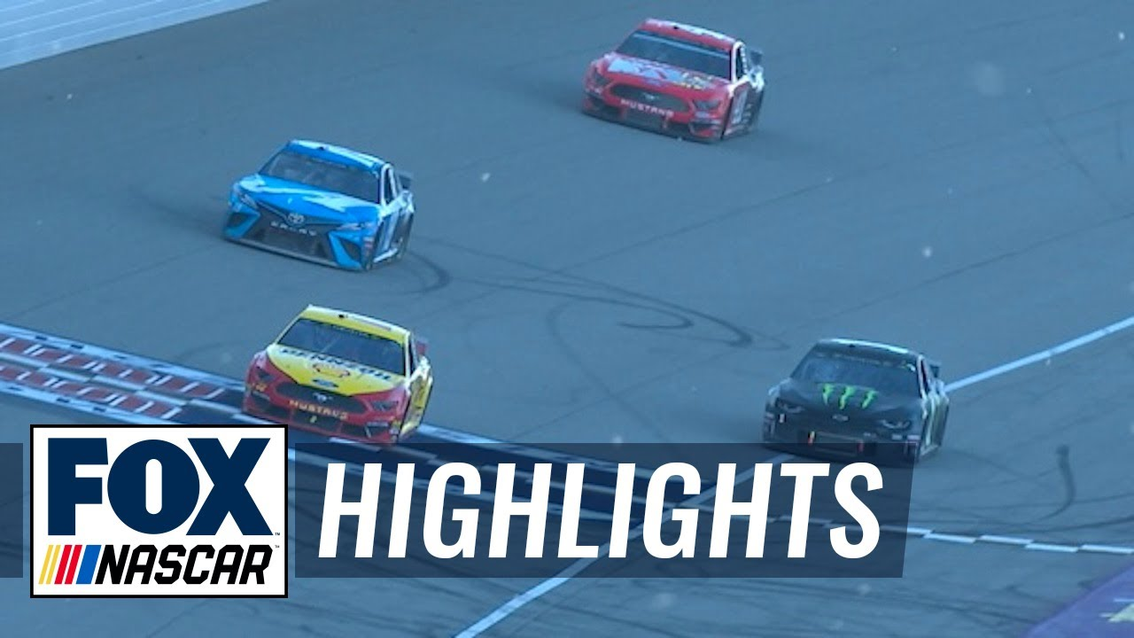 FINAL LAPS: Joey Logano wins it in OT | NASCAR on FOX HIGHLIGHTS