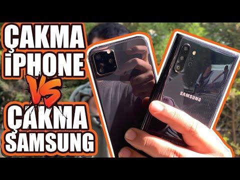 2019'un En Kral Çakma Telefonları: Çakma IPhone 11 Pro Ve Note 10+ Aynı Videoda Çaktık!