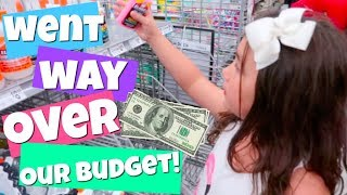 NO BUDGET SLiME SUPPLiES SHOPPiNG CHALLENGE!  Popular Challenges