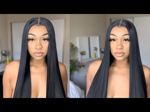 YEA SIS.... I CANT BELIEVE ITS SYNTHETIC EITHER!! | $34 AMAZON 13X6 LACE FRONT WIG