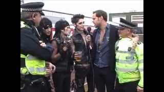 Black Veil Brides interview at Download Festival 2012 with Jeff (TotalRock)