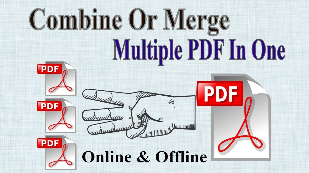 merge two pdfs online