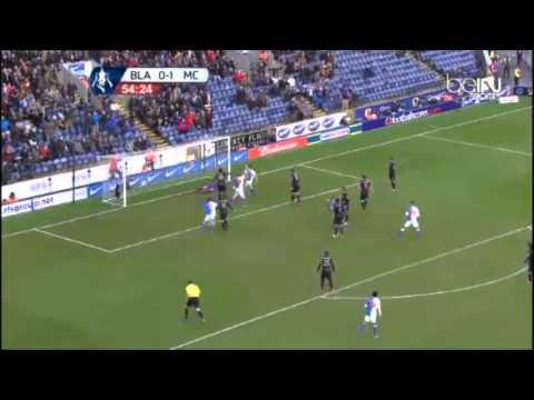 FA Cup Blackburn Rovers 1 - 1 Manchester City Goals & Highlights 04 01 2014