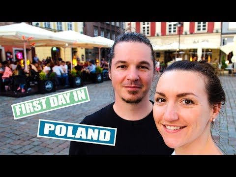 Vlog 105 - Travelling from Germany to Poland | LEIPZIG TO POZNAN