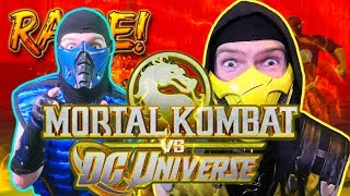 Scorpion & Sub-Zero Play - MORTAL KOMBAT vs DC UNIVERSE! | MK vs DC Gameplay Parody!