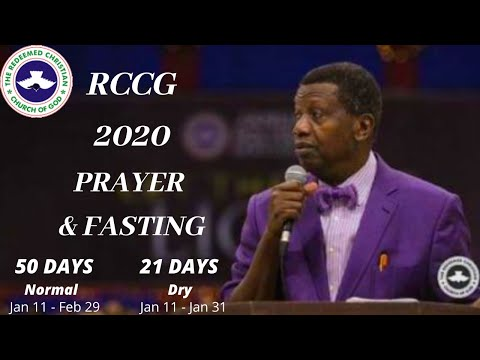 DAY  41- RCCG 2020 PRAYER & FASTING. PRAYER AGAINST SICKNESS & INFIRMITIES.