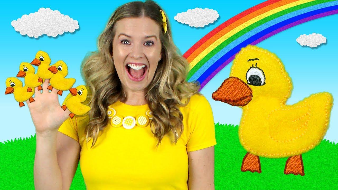 Five Little Ducks | Kids Songs & Nursery Rhymes | Learn to Count the Little Ducks