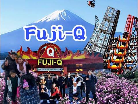 Fuji Q Highlands, one of the best tourist destination in Japan