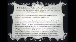 "Bible Study: ""Has God left me?"""