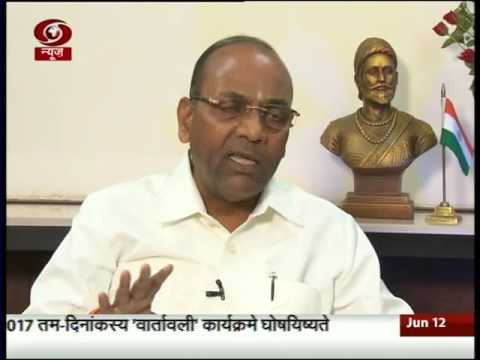 3 years interview with heavy Industry min Anant Geete
