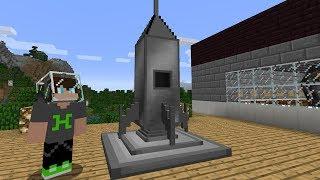 UZAY GEMİSİ YAPTIK - Minecraft Modlu Survival #4 [ Galaktikcraft ]