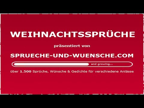 weihnachtsspr che youtube. Black Bedroom Furniture Sets. Home Design Ideas
