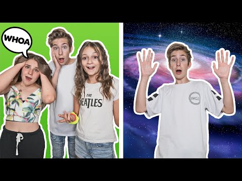 Best Friends REACT To The GREEN SCREEN CHALLENGE **EXTREMELY FUNNY** 😂| Sawyer Sharbino