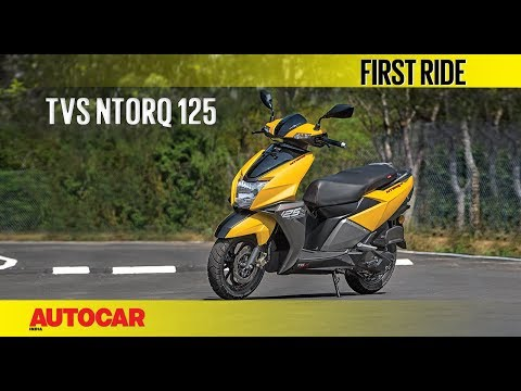 TVS Ntorq 125 | First Ride | Autocar India