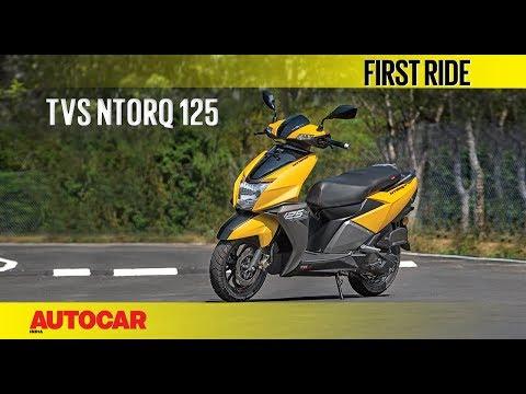 TVS Ntorq 125   First Ride   Autocar India