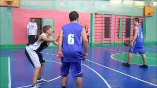 Баскетбол школьники юноши финал 2015