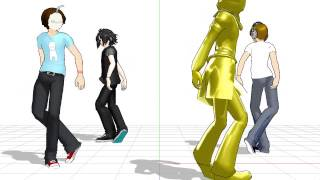 boredom and mmd go perfectly together