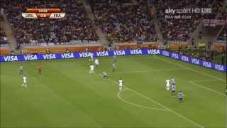 Yoann Gourcuff vs Uruguay 2010