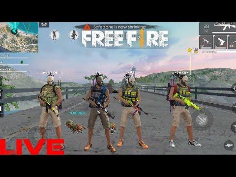 RANKED MATCH SOLO VS SQUAD |Garena Free Fire Live [ 1 VS 4]