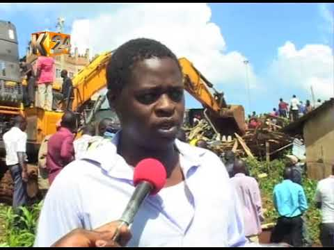 2 dead, several trapped after 5 storey building collapses in Kisii