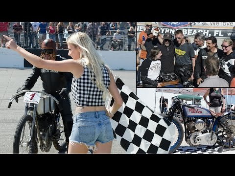 BILLY LANE'S SONS OF SPEED VINTAGE MOTORCYCLE RACE 2017