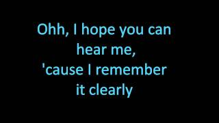 I Miss You - Avril Lavigne with Lyrics.