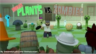 Roblox pvz #1 part 2 :o is this the boss or?