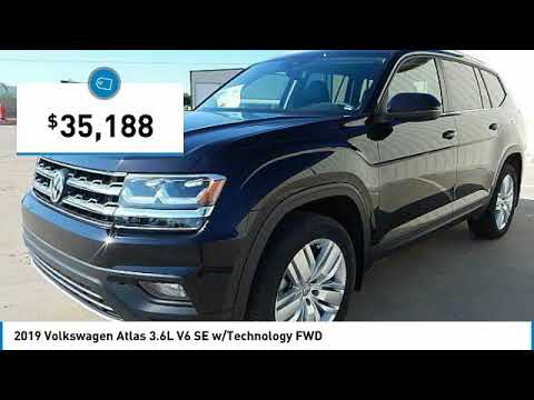 2019 Volkswagen Atlas Edmond Ok, Oklahoma City OK, Norman OK KC562695